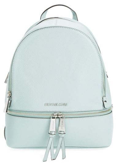 439fc65152a6 Michael Kors Small Rhea Zip Leather Backpack | Fashionable Backpacks ...