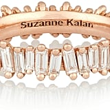 Suzanne Kalan 18-Karat Rose Gold Diamond Ring ($5,600)