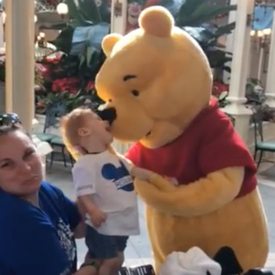 Video of Winnie the Pooh With Child With Special Needs