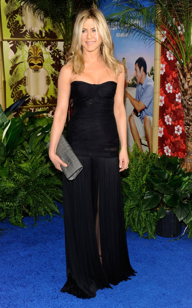 Pictures of Jennifer Aniston at the Just Go With It Premiere in NYC