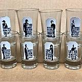 The Walking Dead Shot Glass