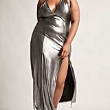Forever 21 Metallic Maxi Dress
