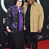 Smith and Baker at The OA's Second Season Premiere on March 19