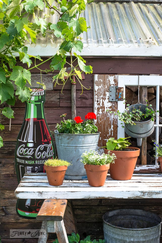 Potting Shed 9 Gorgeous Patio Decorating Ideas Straight From