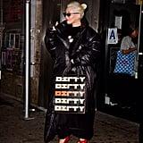 Christina Aguilera's Dirty Bag September 2018