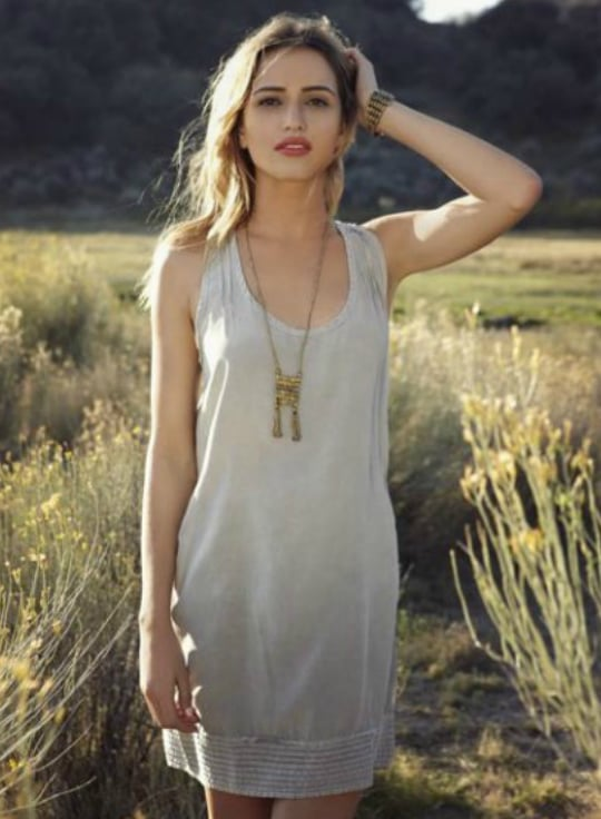 Pair the tassel necklace with breezy sundresses and a gold cuff for a pulled-together look with little effort at all.