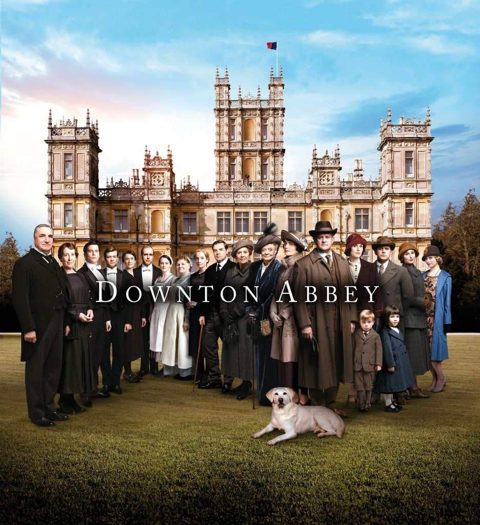 The newest photos from the fifth season of Downton Abbey have been released, and they will hopefully tide over fans who are eagerly awaiting the return of the period series in January 2015. The new snaps show Lady Mary and Tom Branson's children (Master George Crawley and Miss Sybil Branson, respectively) a few years older than when we last left them. They also show Mary joined by her suitor, Lord Gillingham, while on a hunting expedition with Tom and Cora getting chummy with a mysterious new character. Keep reading to see all the photos — including one flub involving a water bottle.