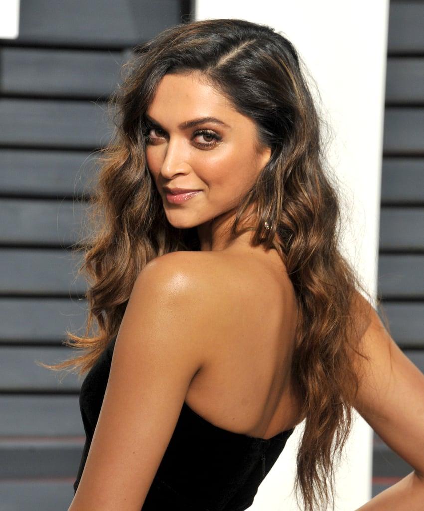 Can help Deepika padukone hair was and