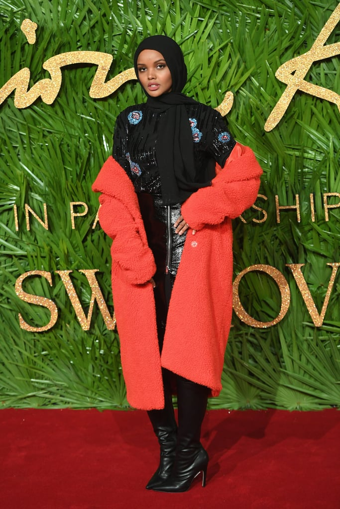 Attending The Fashion Awards in London back in 2017.