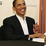 He and Michelle signed a book deal on Feb. 28.