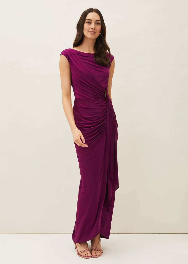 Phase Eight Donna Ruched Maxi Dress