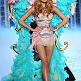 Constance Jablonski walked in the Victoria's Secret Fashion Show.