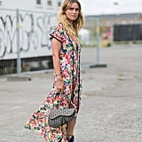 Toughen Up Your Floral Dress With Combat Boots