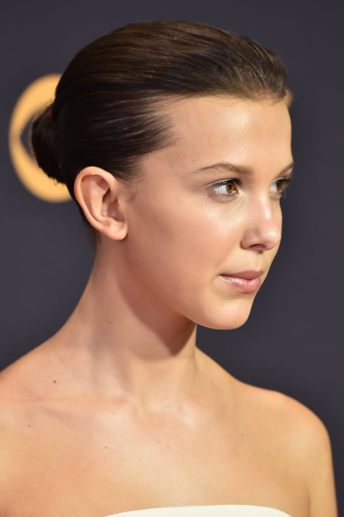 Millie Bobby Brown at the Emmy Awards