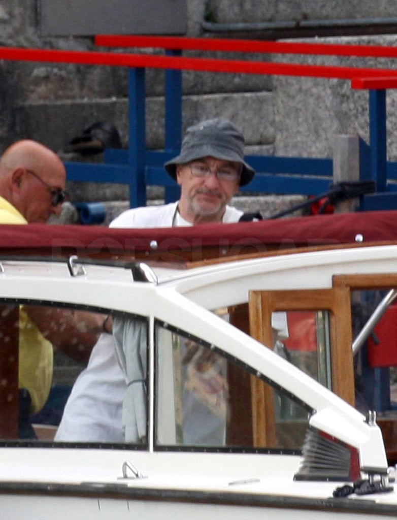 Photos of Robert De Niro in Italy