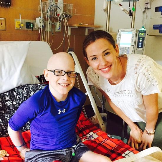 Jennifer Garner Visits Young Cancer Patient, Focuses on Work Amid Ben Affleck, Nanny Reveal