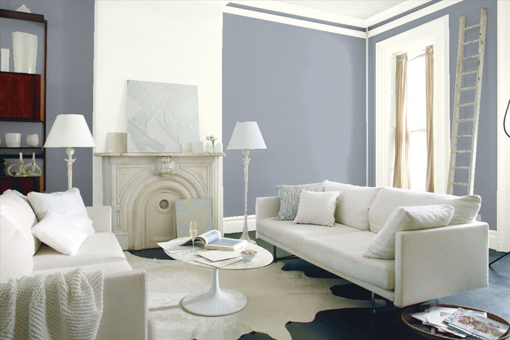 Benjamin Moore Nickel Best Gray Paints Popsugar Home