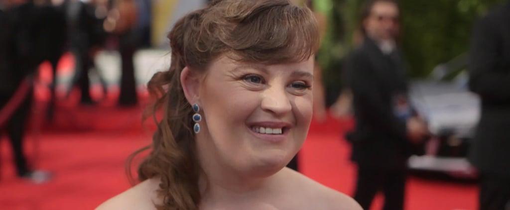 Jamie Brewer Interview at 2016 Emmys (Video)