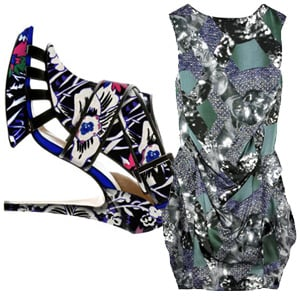 Peter Pilotto and Nicholas Kirkwood Collaborate for Spring 2011