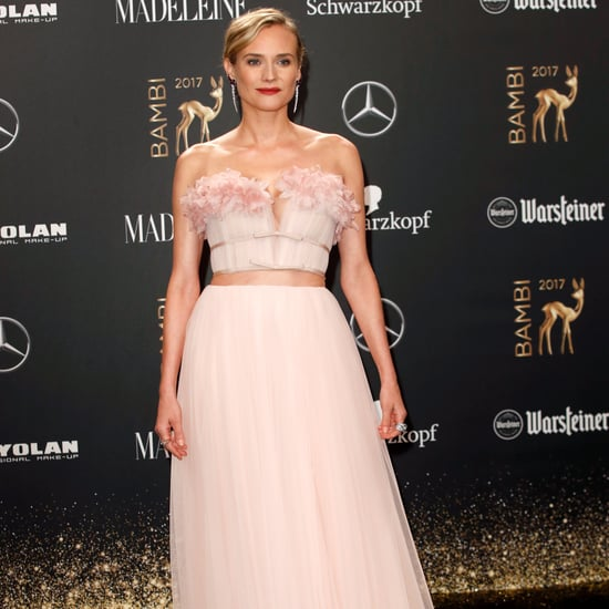 Diane Kruger Giambattista Valli Dress at the Bambi Awards
