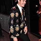 Henry Golding at the Met Gala Afterparty
