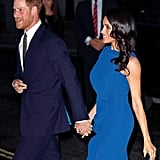 Meghan and Harry dazzled together at the 100 Days of Peace concert in September 2018.