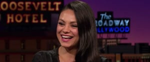 "Mila Kunis Describes the Moment She Moved Ashton Kutcher From the ""Friend Zone to the End Zone"""