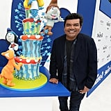 George Lopez attended the premiere in LA.