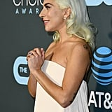 Lady Gaga at the 2019 Critics' Choice Awards
