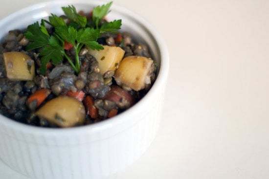 Lentil Salad With Potatoes