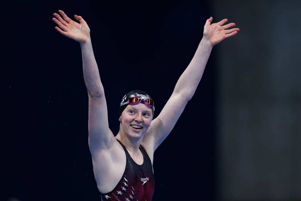 Lydia Jacoby Wins 100m Breaststroke Olympic Gold Medal