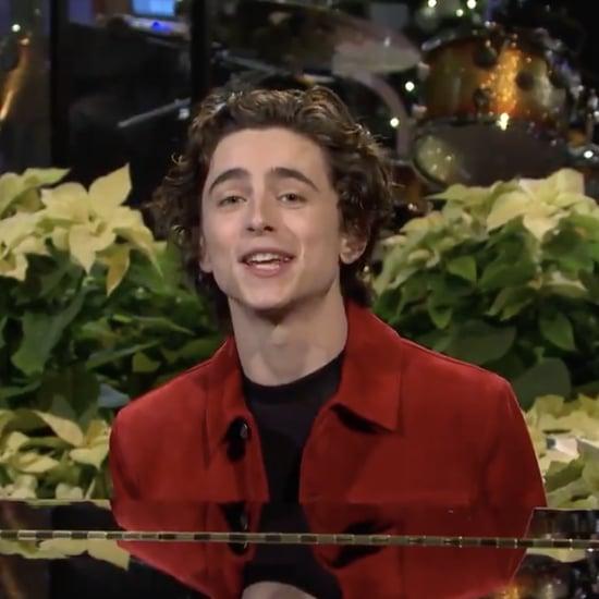 SNL: Watch Timothée Chalamet's Opening Monologue   Video