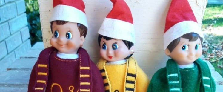 Harry Potter Elf on the Shelf