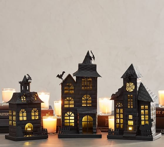 Haunted House Best Pottery Barn Halloween Decorations