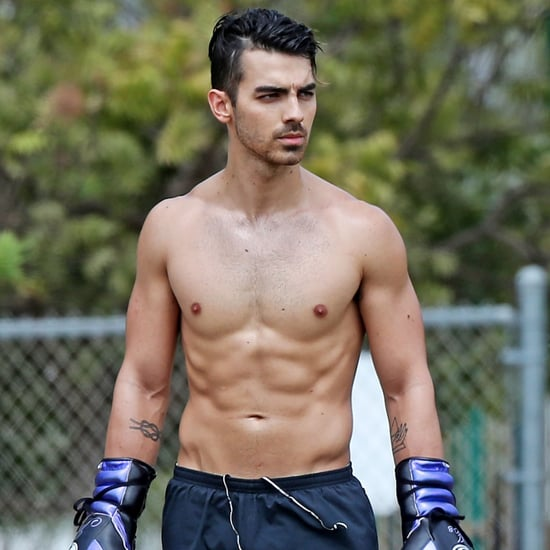 Joe Jonas Shirtless in LA September 2016
