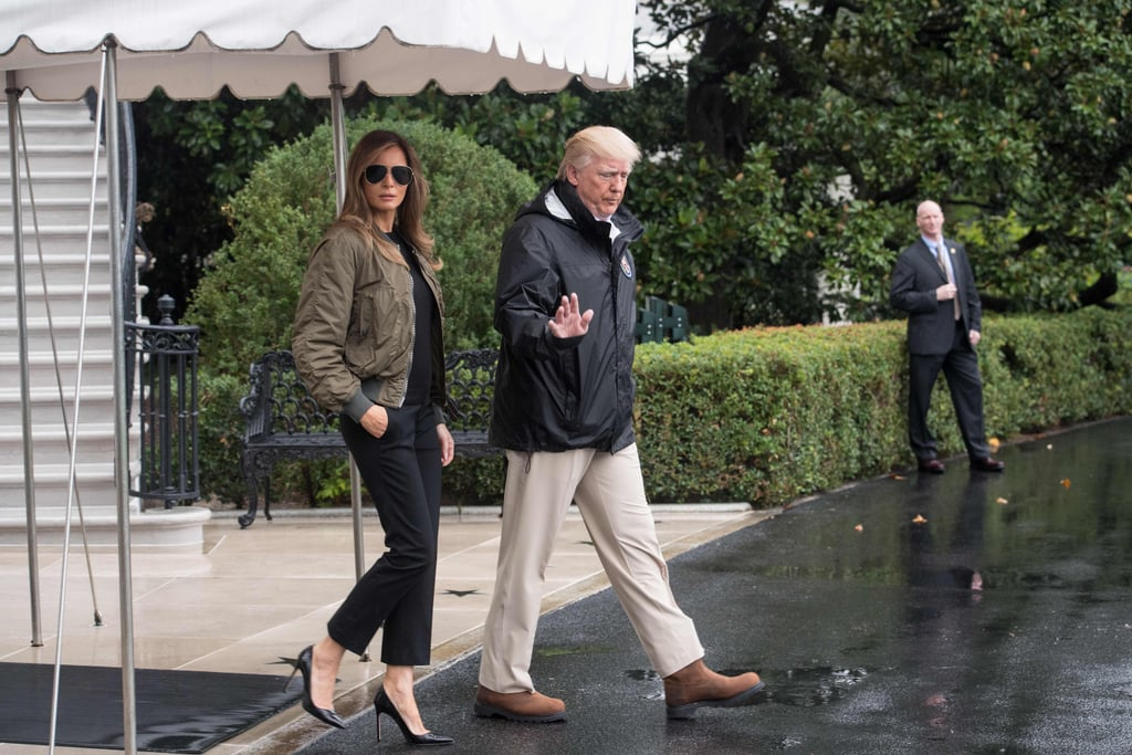 Melania's Heels For Her Visit to Texas