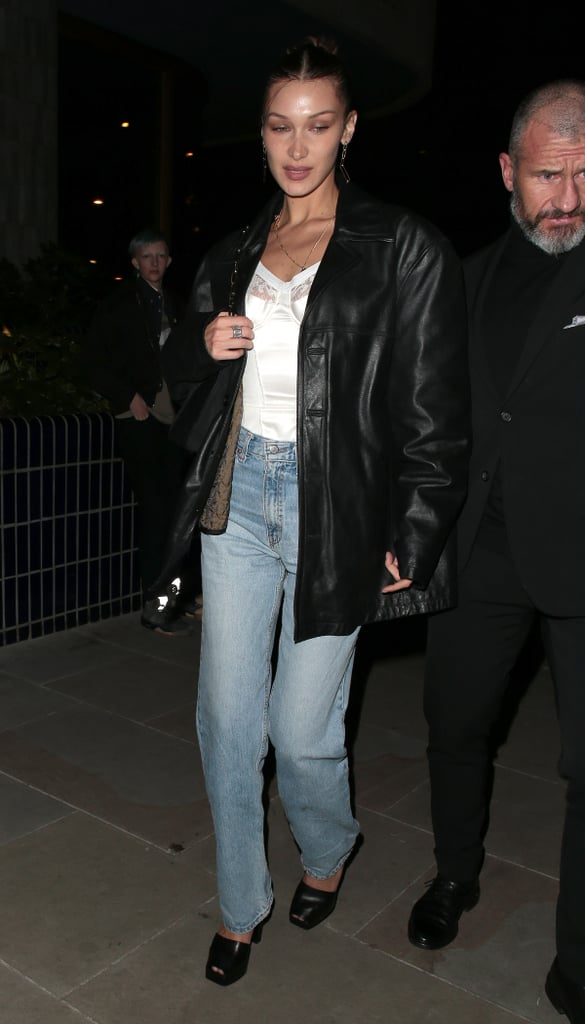 Bella Hadid's Street Style at London Fashion Week