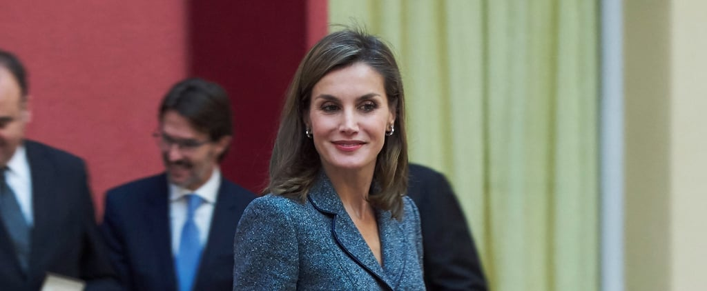 Queen Letizia Just Teleported Back to a Glamorous 1950s Dream With This 1 Outfit