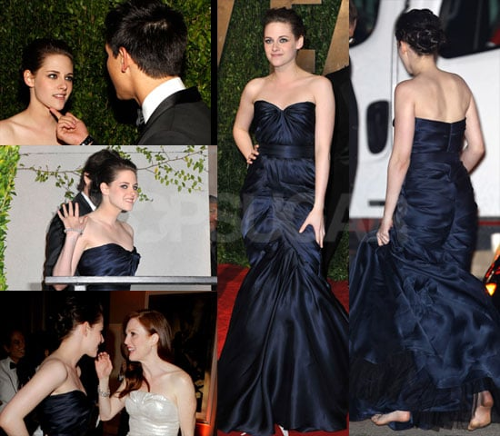 Photos of Kristen Stewart Barefoot at Vanity Fair Oscars Party 2010-03-08 08:30:00