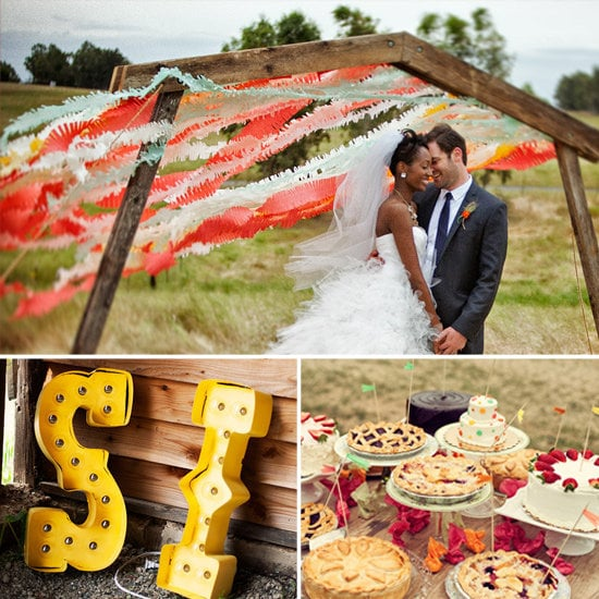 Take A Look Through This Real-life Carnival-themed Wedding