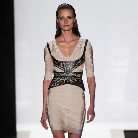 2014 Spring New York Fashion Week Runway Hervé Léger | Photo