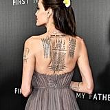 Intricate Back Tattoos
