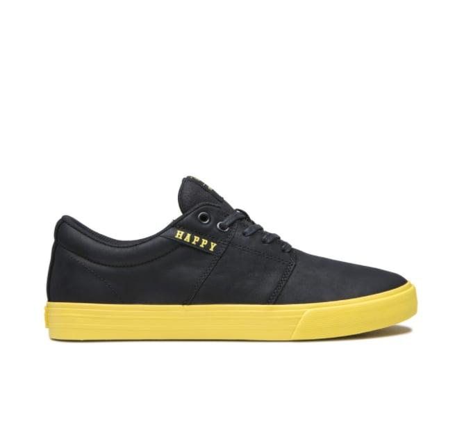 Supra's Stacks II Vulc Sneaker in Happy