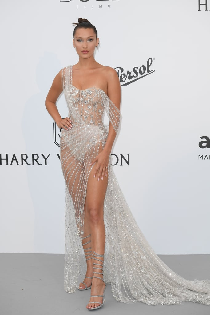 Bella Hadid at the 2017 amFAR Cannes Gala