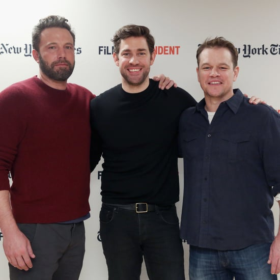 Matt Damon and Ben Affleck at Film Independent NYC 2016