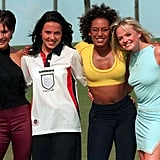 The Spice Girls visited Miami in January 1996.