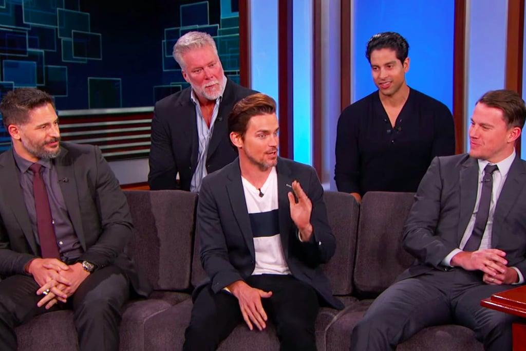Jimmy Kimmel Interviews the Magic Mike XXL Cast