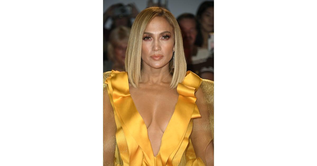 Jennifer Lopez's Lob Haircut | Best Celebrity Lob Haircuts ...