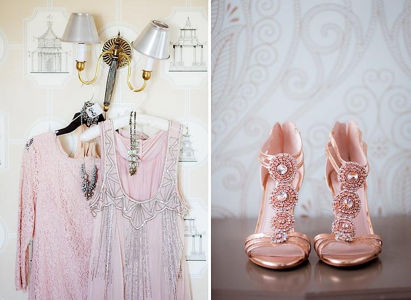 Champagne-Pink Attire