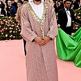 French Montana at the 2019 Met Gala